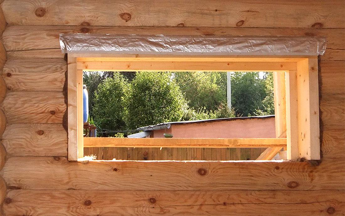 Как с маленьких окон сделать побольше окна 506